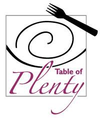 TABLE OF PLENTY LOGO